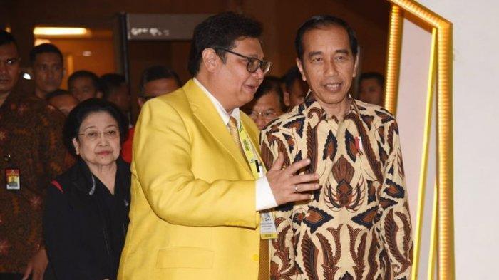 Pertumbuhan Ekonomi Meningkat, SMRC Sebut Kepercayaan Jokowi Kepada Airlangga Semakin Terlihat
