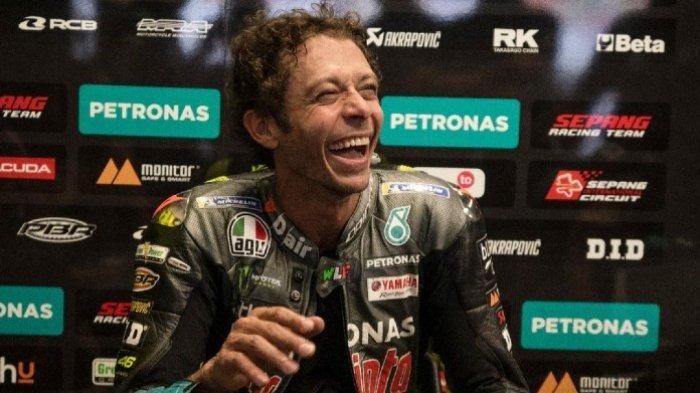 Lelucon Valentino Rossi Ditanggapi Serius Penggemar, Muncul Petisi Minta Semua Pembalap Mengalah