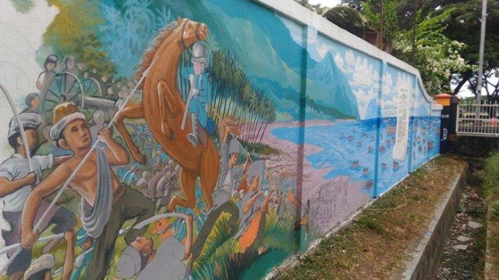 Dahsyatnya Perang Aceh dalam Mural Kerkhof