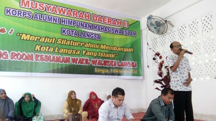 Khairul Radhi Pimpin KAHMI Kota Langsa, Ini Harapan Wali Kota