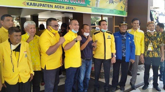 Terpilih Jadi Ketua Golkar Aceh Jaya, T Asrizal Siap Lepas Kursi Wakil Ketua DPRK dan Maju Pilkada