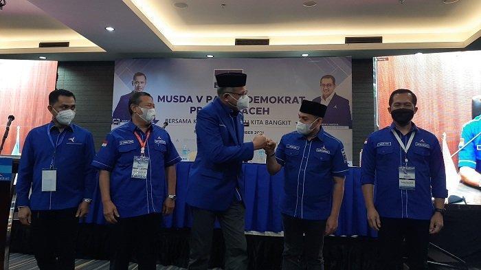 Musda Partai Demokrat Aceh, Nova: Tidak Ada Menang dan Kalah dalam Keluarga