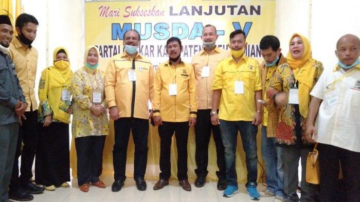 Terpilih Secara Aklamasi, Adriadi Pimpin Golkar Aceh Tamiang