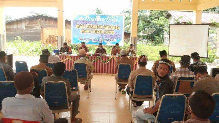 Kecamatan Simpang Jernih Bahas Qanun Adat Istiadat Gayo