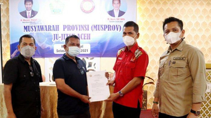 Pengprov Ju Jitsu Aceh Resmi Terbentuk, Khalili Terpilih sebagai Ketua Umum
