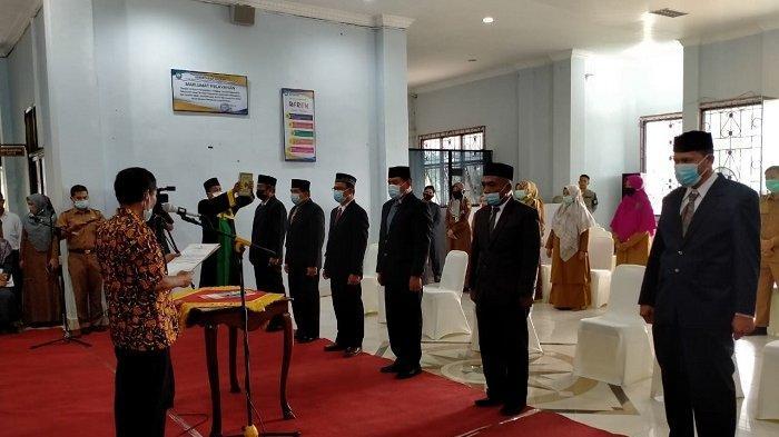 Bupati Akmal Ibrahim Kembali Rombak Pejabat Eselon II dan III, Sepuluh Jabatan Kepala Dinas Kosong