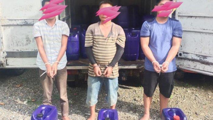 Modus Jual Minyak Goreng, Dua Tersangka Lagi Asal Lampung Ditangkap Polres Nagan Raya