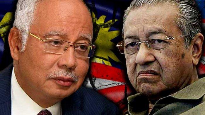 Wow Najib Razak Tinggalkan Utang Negara Rp 3.500 Triliun, Begini Komentar Mahathir Mohamad