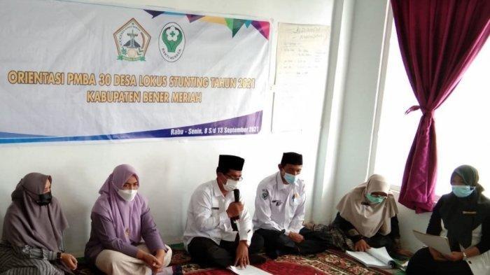 84 Nakes dan Kader Posyandu di Bener Meriah ikut Orientasi PMBA