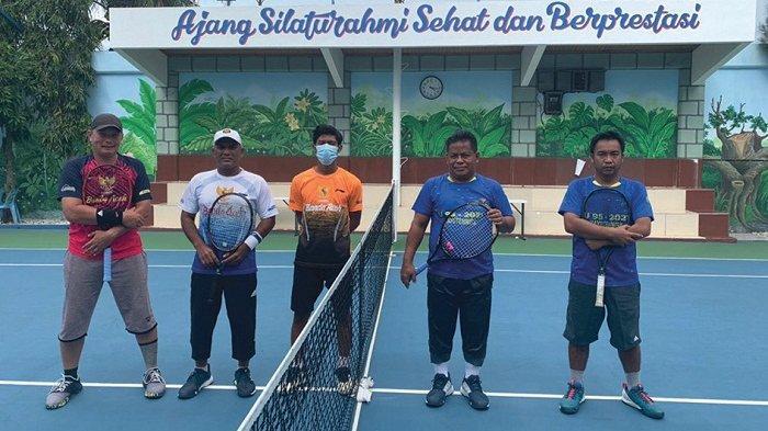 Aminullah/Tio Lana Juara Tenis HUT RI