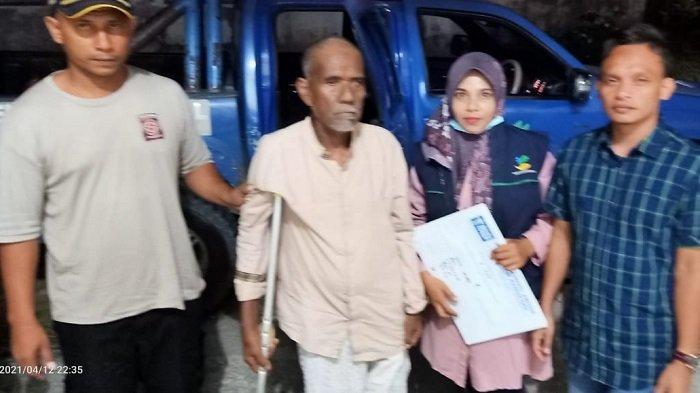 Seorang Lansia Asal Bireuen Dititipkan ke Darussa'adah Lhokseumawe