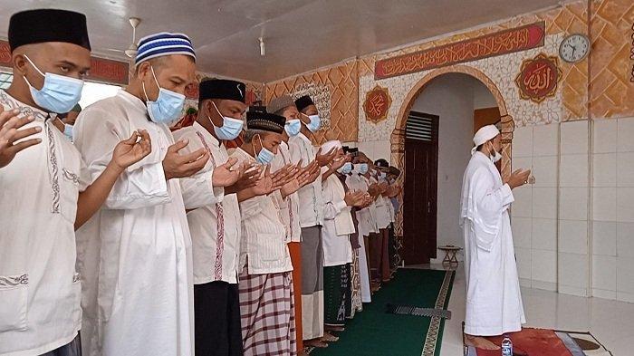 Napi Rutan Banda Aceh Shalat Gaib dan Kirim Doa untuk Korban Kebakaran di Lapas Tangerang
