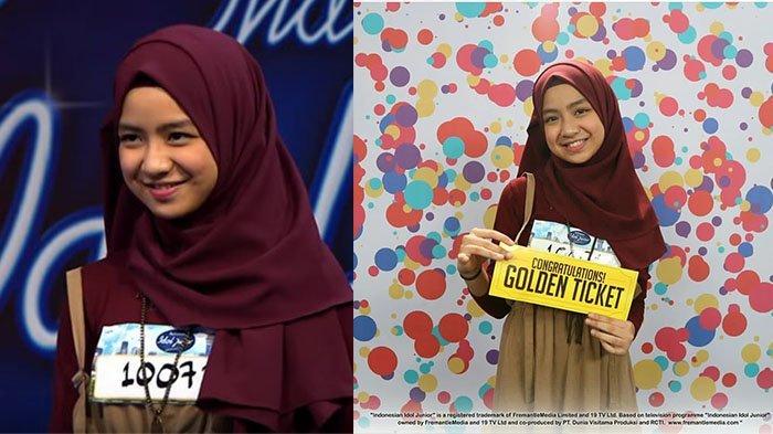 Lolos Audisi Indonesian Idol Junior 2018 & Dijodohkan dengan Dul, Ini 5 Fakta Menarik Nashwa Zahira