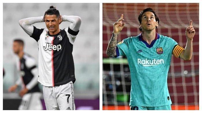 Juventus vs Barcelona - Ronaldo Marah Batal Lawan Lionel Messi, CR7: Tes Covid-19 Omong Kosong