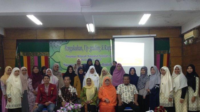 Pengurus PW Nasyiatul Aisyiyah Aceh Dikukuhkan, Langsung Upgrading
