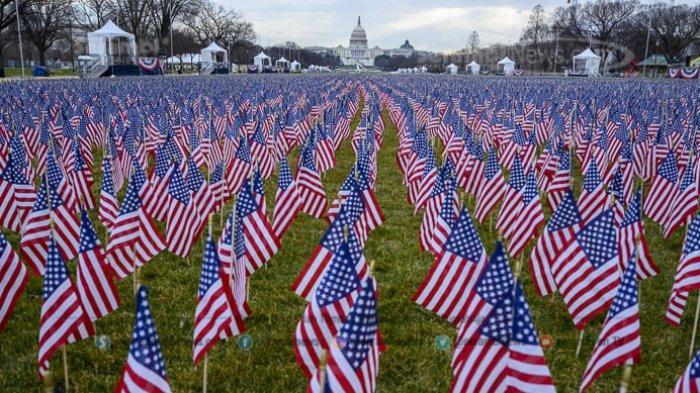 FOTO - Persiapan Jelang Pelantikan Joe Biden dan Kamala Harris Sebagai Presiden Amerika Serikat - national-mall-menjelang-upacara-pelantikan.jpg