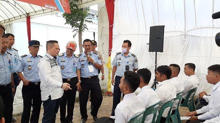 Pantau Proses Seleksi CPNS Kemenkumham di Unaya, Nazaruddin Dek Gam Beri Motivasi kepada Peserta