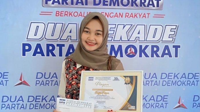 """Nazila Fonna, Putri Asal Aceh Menangi Lomba Menyanyi """"Cahaya Dalam Kegelapan"""" Ciptaan SBY"""