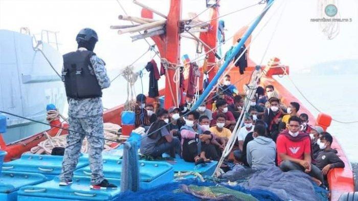 Angkatan Laut Thailand Tangkap Kapal Nelayan Idi, Aceh Timur, 32 ABK Ditahan