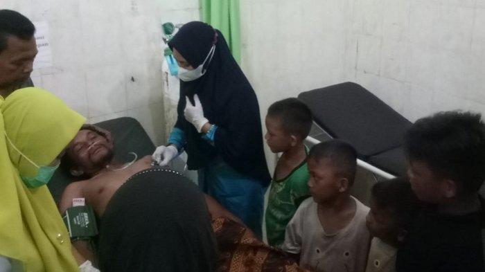 Dua Malam Terombang-ambing di Laut, Nelayan Singkil Diselamatkan Boat Sibolga