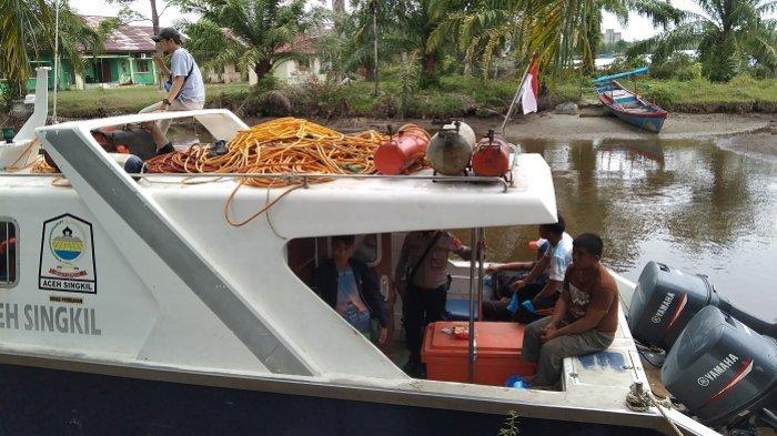 Ini Identitas ABK Enam Kapal Nelayan Penangkap Ikan dengan Memakai Kompresor di Aceh Singkil