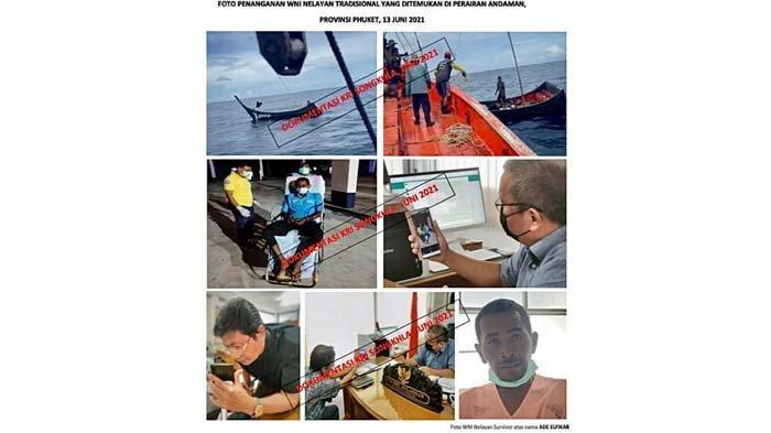 Nelayan asal Sabang, Dedek El Fikar yang terdampar di Thailand, Juni 2021