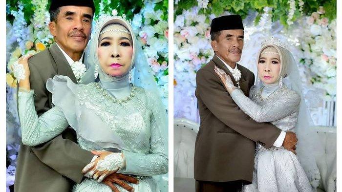 Jodoh Tak Ada yang Tahu, Nenek ini Baru Ketemu Jodoh di Usia 56 Tahun, Pernikahan Pertama