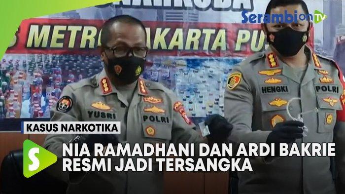 Polisi Jelaskan Alasan tak Hadirkan Pasangan Nia Ramadhani dan Ardi Bakrie dalam Rilis Kasus Narkoba