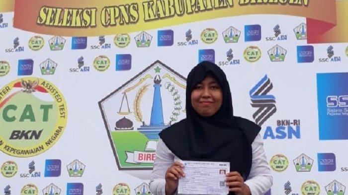 Titin Rahmawati, Pelamar CPNS Bireuen Raih Nilai Tertinggi Passing Grade, Contek Kiatnya