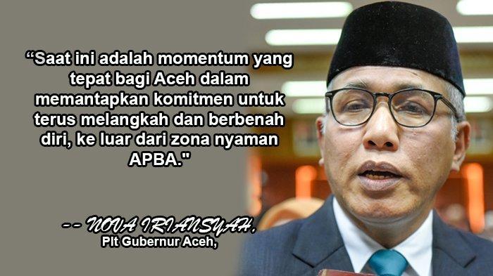 Songsong RPJMN 2020-2024, Nova Iriansyah Ajak SKPA Serius Tarik Proyek APBN ke Aceh