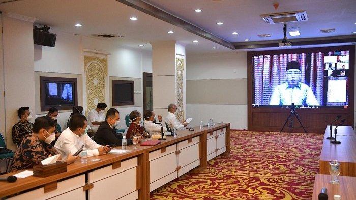 Nova Paparkan Kebijakan Penanganan Covid-19 Aceh dalam Konferensi Internasional Pembaruan Bedah