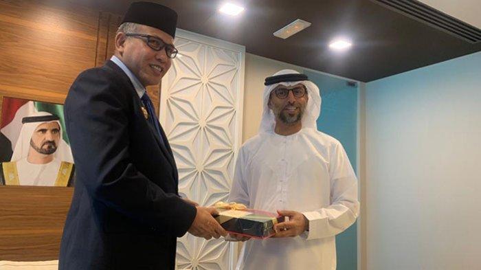 Plt Gubernur Nova Iriansyah ke Abu Dhabi, Bahas Realisasi Komitmen Investasi Uni Emirat Arab di Aceh