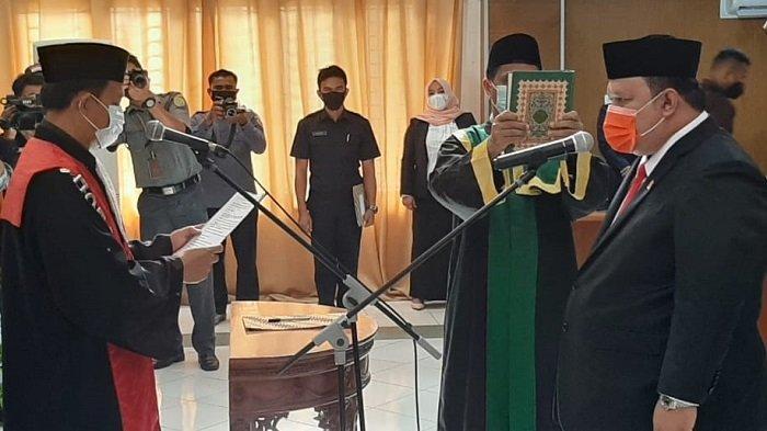 Irwanto NP dilantik Jadi Wakil Ketua DPRK Aceh Jaya
