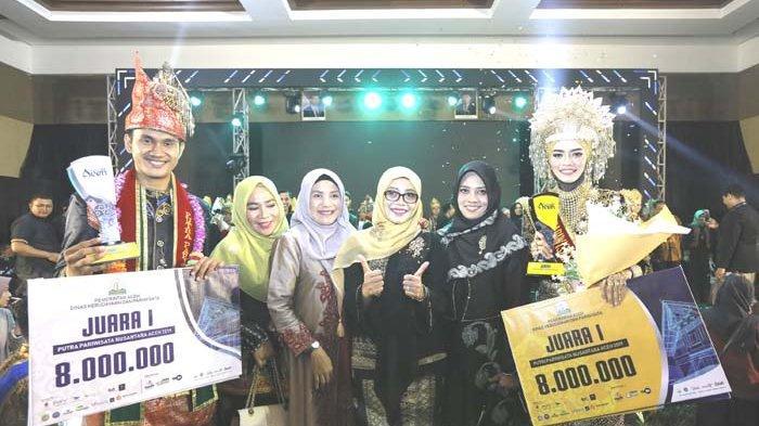 Risky dan Farah Putra Putri Pariwisata Nusantara Aceh 2019