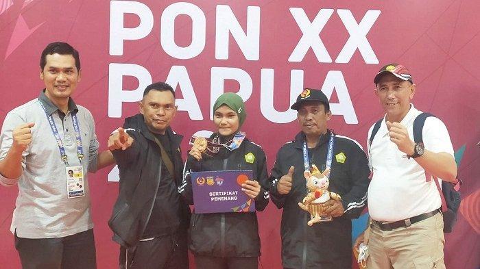 Perdana, Aceh Raih Medali Anggar Nomor Sabel
