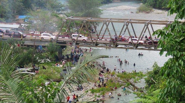Objek Wisata di Nagan Raya Dipadati Warga