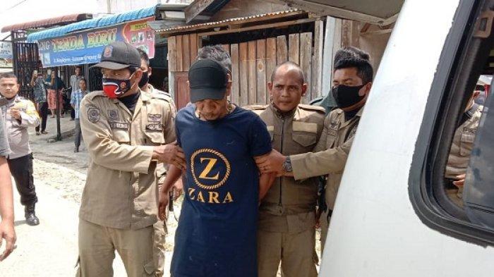Kemana-mana Bawa Pisau, Pria Ini Ditangkap Polisi dan Petugas Satpol PP, Ternyata Idap Penyakit Ini