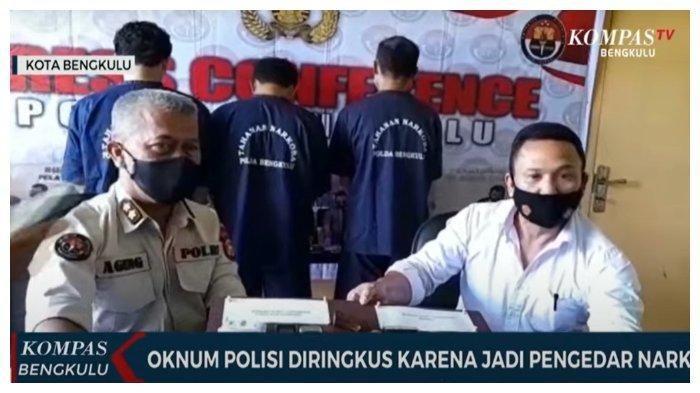 Oknum Polisi Ditangkap, Terlibat Jaringan Narkoba Bersama 2 Kurir, Sejumlah Paket Sabu Disita
