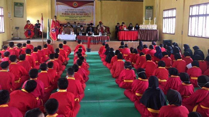 Pengurus Pimda 334 Tapak Suci Putra Muhammadiyah Aceh Tengah Dilantik