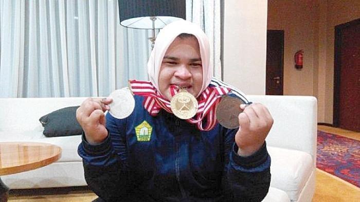 Angkat Besi Olimpiade Tokyo - Nurul Akmal asal Aceh Berpotensi Raih Medali Emas, Bertanding Sore Ini
