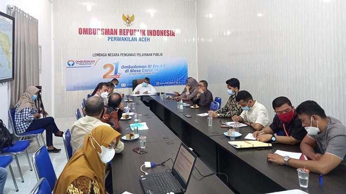 Ombudsman Aceh Rakor dengan BSI dan OJK, Bahas Pengaduan Masyarakat Terkait Pelayanan Bank