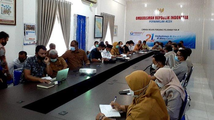 Bahas IPAL Gampong Pande, Sejumlah Stakeholder Berkumpul di Kantor Ombudsman Aceh, Ini yang Dibahas
