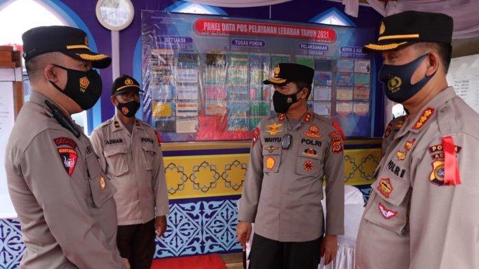 Kapolda AcehBeri Motivasi Personel yang Bertugas di Pos Pengamanan Aceh Utara