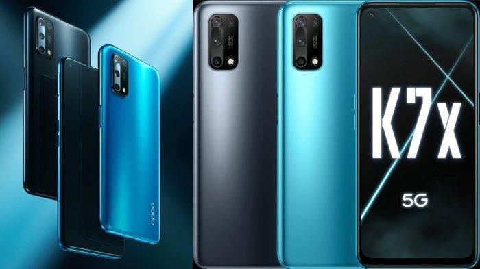 Baru Saj RIlis, Berikut Harga dan Spesifikasi Oppo K7x, Smartphone 5G Rp 3 Jutaan