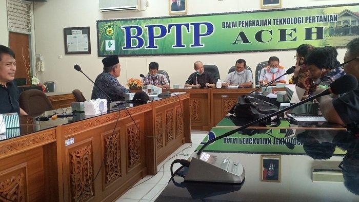 Maporina dan BPTP Tertarik Jadikan Aceh Tamiang Pusat Pertanian Organik