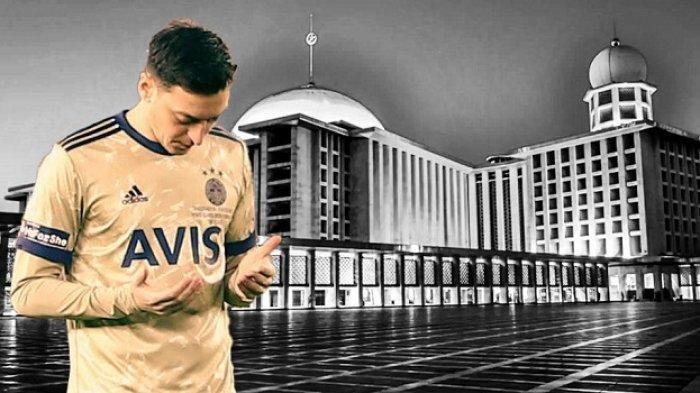Mesut Ozil Pajang Foto Masjid Istiqlal di Instagram, Warganet Heboh
