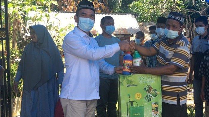 Anggota DPRK Aceh Selatan Serahkan Pokir untuk Petani Kluet Timur