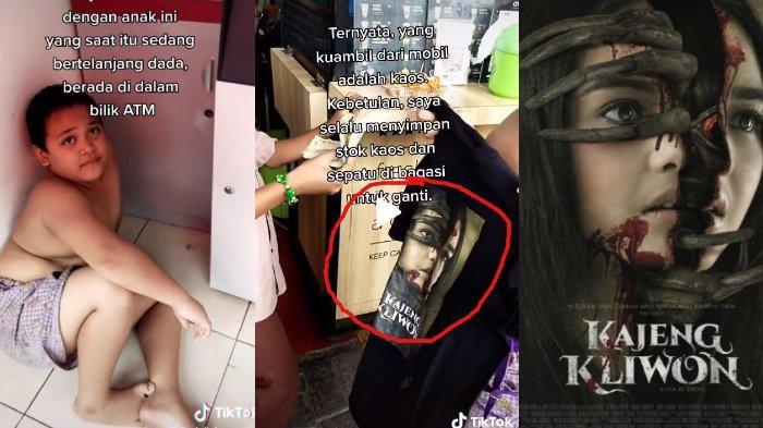 Pakai Baju Kajeng Kliwon, Bocah Viral yang Ngadem di ATM Dilirik Sutradara Handal Bambang Drias