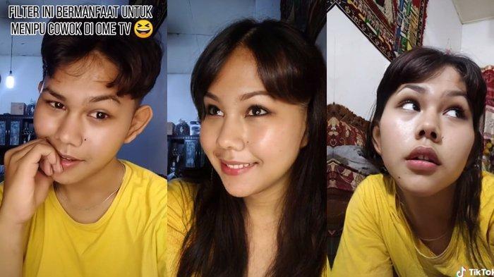 Viral Potret Pemuda Usai Pakai Filter FaceApp,Warganet Salfok Sebut Wajahnya Mirip Vanesha Prescilla