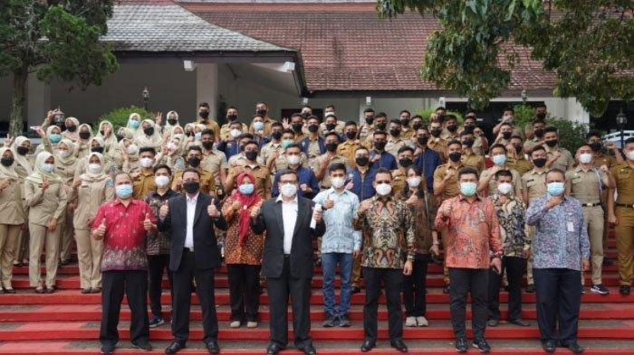67 Pamong Praja Muda IPDN Asal Aceh Dilantik, Diminta Segera Pulang Bertugas di Pemerintahan